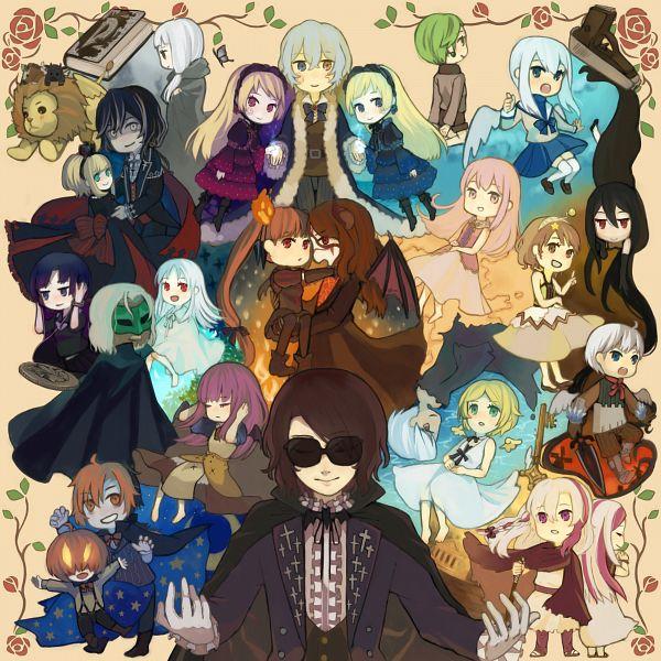 Tags: Anime, Pixiv Id 2877678, Elefseus, Picomary, Rukia (Sound Horizon), Chronica (Sound Horizon), Hiver Laurant, Shaytan (Sound Horizon), Revo (Sound Horizon), The Halloween Night (Character), Elice, Eien no Shounen, Violet (Sound Horizon)