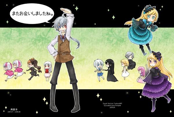 Tags: Anime, Bongore, Hiver Laurant, Chronica (Sound Horizon), Layla (Sound Horizon), Violette, Eien no Shounen, Elice, Lost-ko, Thanatos-ko, Artemisia (Sound Horizon), Elefseus, Lost (Sound Horizon)
