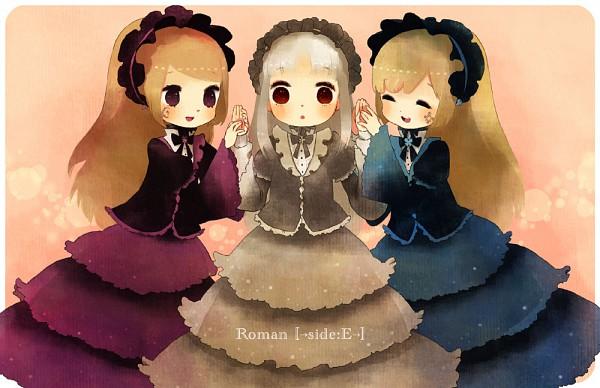 Tags: Anime, Amekouni, Elice, Violette, Hortense, Gray Dress, Roman (Sound Horizon), Pixiv, Elysion (Sound Horizon), Sound Horizon