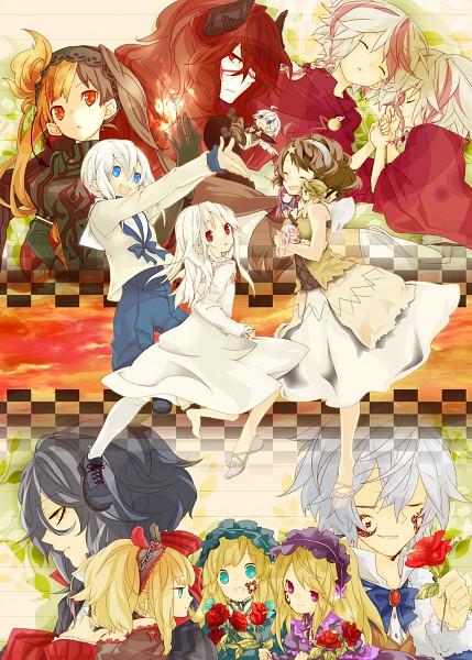 Tags: Anime, Kuusouryodan, Rukia (Sound Horizon), Violette, Shaytan (Sound Horizon), Elice, Hortense, Layla (Sound Horizon), Lost-ko, Märchen von Friedhof, Picomary, Artemisia (Sound Horizon), Thanatos-ko