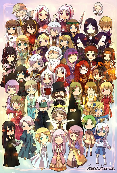 Tags: Anime, Elice, Mu (Sound Horizon), Artemisia (Sound Horizon), Milos, Shaytan (Sound Horizon), Lost-ko, Trin, Yield (Sound Horizon), Thanatos-ko, Savant, Hiver Laurant, Sadi (Sound Horizon)