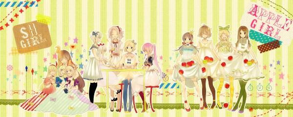 Tags: Anime, Kyanarinu, Elisabeth von Wettin, Schneewittchen, Sacri, Elise (Sound Horizon), Violette, Lost-ko, Rukia (Sound Horizon), Picomary, Hortense, Thanatos-ko, Idoko
