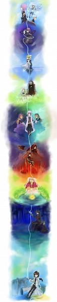 Tags: Anime, Elefseus, Rukia (Sound Horizon), Chronica (Sound Horizon), Hiver Laurant, Shaytan (Sound Horizon), Revo (Sound Horizon), Elice, Eien no Shounen, Violette, Layla (Sound Horizon), Tsurugi no Shounen, Lost-ko