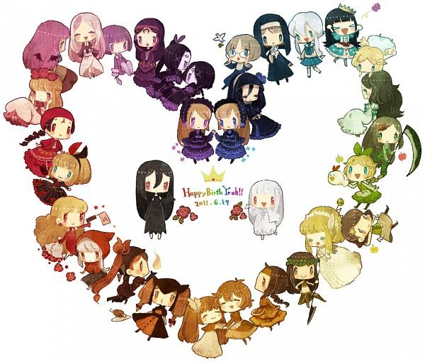 Tags: Anime, Amekouni, Mu (Sound Horizon), Stella (Sound Horizon), Elise (Sound Horizon), Chronica (Sound Horizon), Baroque (Sound Horizon), Thanatos-ko, Enjà (Sound Horizon), Rukia (Sound Horizon), Lost-ko, Schneewittchen, Artemisia (Sound Horizon)