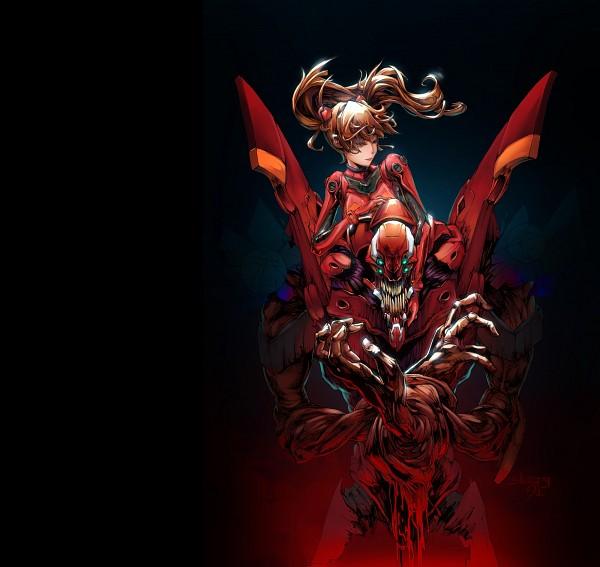 Tags: Anime, Neon Genesis Evangelion, Eva 02, Souryuu Asuka Langley, Fanart, Artist Request, Asuka Langley Soryu