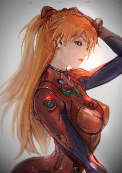 Tags: Anime, Pixiv Id 6653158, Neon Genesis Evangelion, Souryuu Asuka Langley, Pixiv, Fanart, Fanart From Pixiv