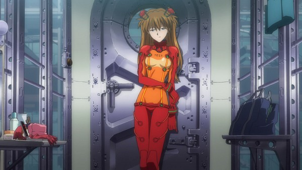 Tags: Anime, Neon Genesis Evangelion, Souryuu Asuka Langley, Screenshot, Wallpaper, HD Wallpaper, Asuka Langley Soryu