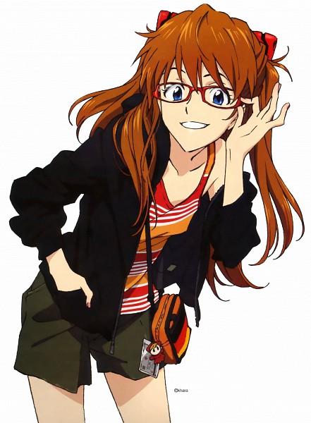 Tags: Anime, Hiramatsu Tadashi, Neon Genesis Evangelion, Souryuu Asuka Langley, Official Art