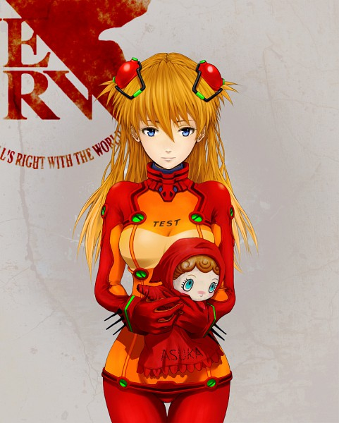 Tags: Anime, Kaoru Niou, Neon Genesis Evangelion, Souryuu Asuka Langley, Fanart, Pixiv