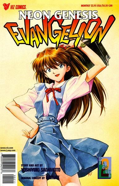 Tags: Anime, Yoshiyuki Sadamoto, Neon Genesis Evangelion, Souryuu Asuka Langley, Official Art