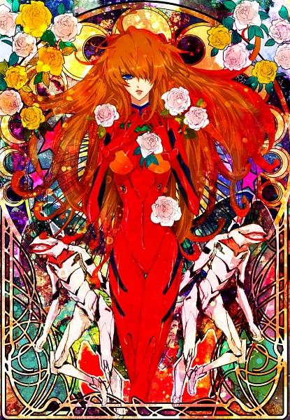 Tags: Anime, Pixiv Id 573568, Neon Genesis Evangelion, Souryuu Asuka Langley, Fanart, PNG Conversion, Pixiv