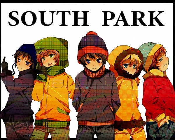 Tags: Anime, Pixiv Id 3276678, South Park, Stanley Randall Marsh, Craig Tucker, Eric Theodore Cartman, Kyle Broflovski, Kenneth McCormick, Fanart, Fanart From Pixiv, Pixiv, Wallpaper