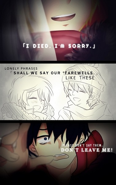 Tags: Anime, Marshelyne, South Park, Kenneth McCormick, Stanley Randall Marsh, Parka, Kagerou Project (Parody), Lyrics, Bandaged Cheek, Patch On The Nose, deviantART, Fanart, Mobile Wallpaper
