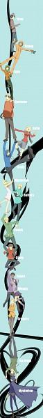 Tags: Anime, Kamaniki, South Park, Craig Tucker, Mysterion, Leopold Stotch, Bebe Stevens, Tweek Tweak, Clyde Donovan, Kenneth McCormick, Marjorine, Wendy Testaburger, Gregory