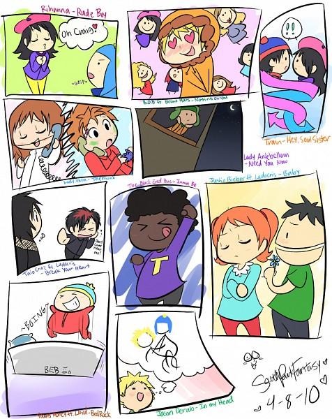 """Tags: Anime, South Park, Craig Tucker, Tammy Warner, Kenneth McCormick, Ike Broflovski, Tweek Tweak, Kevin McCormick, Stanley Randall Marsh, Ruby Tucker, Wendy Testaburger, Rebecca """"Red"""" Tucker, Bebe Stevens"""
