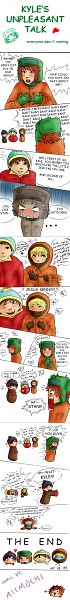 Tags: Anime, South Park, Eric Theodore Cartman, Kyle Broflovski, Kenneth McCormick, Stanley Randall Marsh