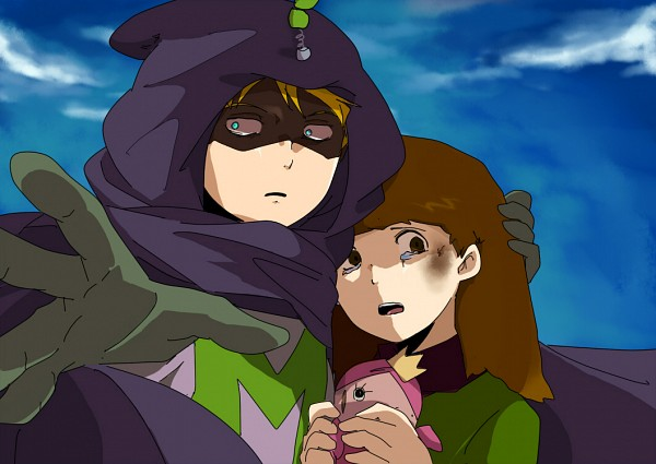 Tags: Anime, South Park, Karen McCormick, Mysterion, Kenneth McCormick
