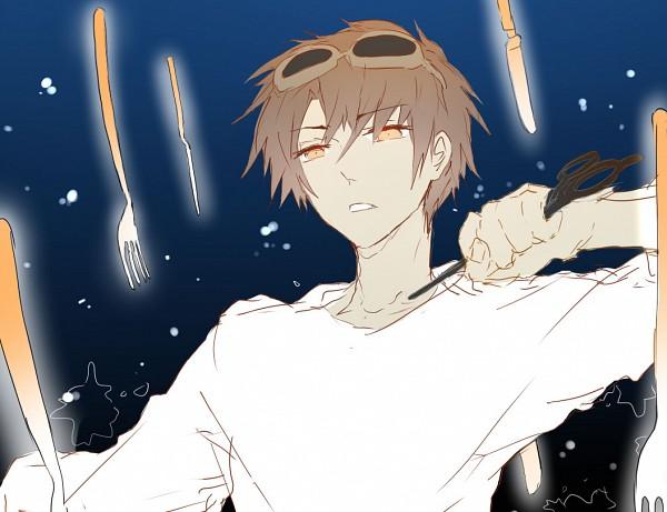 Tags: Anime, Spazzytoaster, Original, Mosaic Role, Pixiv
