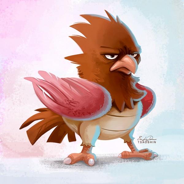 Tags: Anime, TsaoShin, Pokémon, Spearow, deviantART, Fanart From DeviantART, Fanart, PNG Conversion
