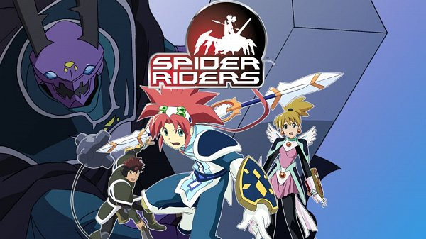 Tags: Anime, Spider Riders, Hunter Steele, Corona (Spider Riders), Artist Request, Character Request