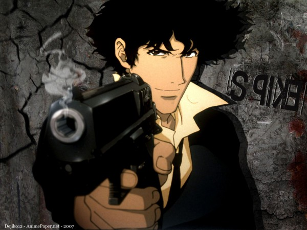 Tags: Anime, Cowboy Bebop, Spike Spiegel, Wallpaper, Fanmade Wallpaper, Edited