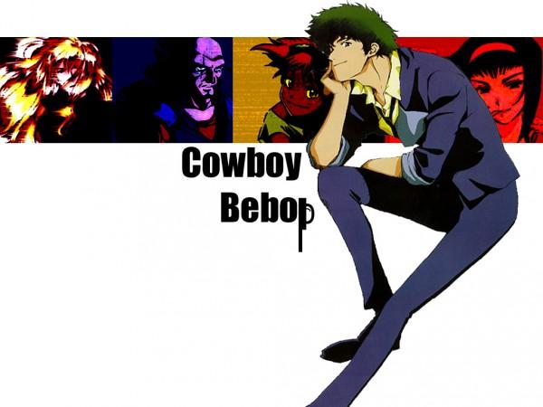 Tags: Anime, Cowboy Bebop, Jet Black, Julia (Cowboy Bepop), Spike Spiegel, Faye Valentine, Edward Wong Hau Pepelu Tivrusky IV, Edited, Fanmade Wallpaper, Wallpaper