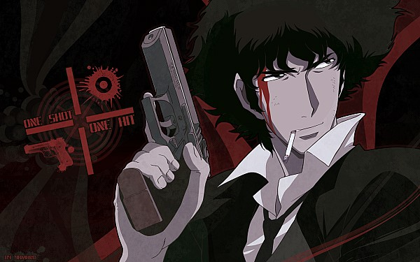 Tags: Anime, Cowboy Bebop, Spike Spiegel, Edited, Wallpaper, Fanmade Wallpaper