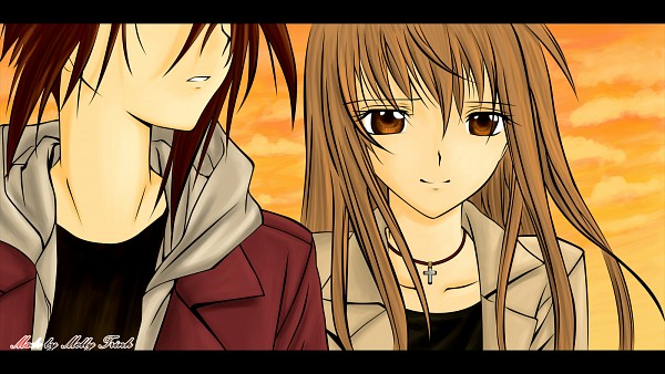 Tags: Anime, Spiral (Manga), Yuizaki Hiyono, Narumi Ayumu, Wallpaper, Spiral: The Bonds Of Reasoning