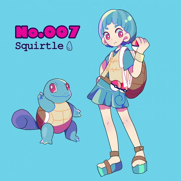 Tags: Anime, Pixiv Id 24424167, Pokémon, Squirtle, Pixiv, Fanart, Fanart From Pixiv