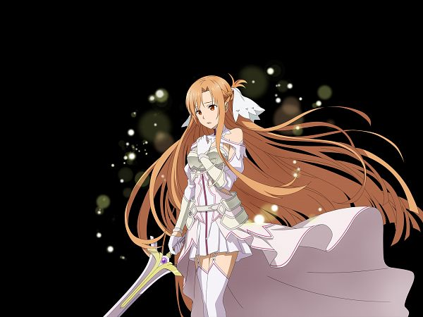 Tags: Anime, Bandai Namco Entertainment, Sword Art Online, Sword Art Online: Alicization Blading, Stacia (PA), Yuuki Asuna, 1920x1440 Wallpaper, Facebook Cover, Wallpaper, Official Art