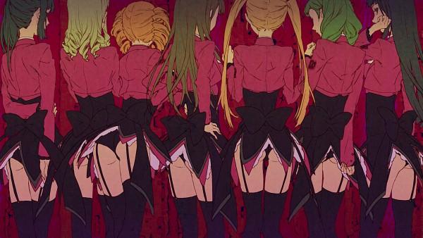 Tags: Anime, Egawa Satsuki, 07th Expansion, Umineko no Naku Koro ni, Satan (Sister of Purgatory), Belphegor (Sister of Purgatory), Leviathan (Sister of Purgatory), Asmodeus (Sister of Purgatory), Lucifer (Sister of Purgatory), Beelzebub (Sister of Purgatory), Mammon (Sister of Purgatory), Wallpaper, HD Wallpaper