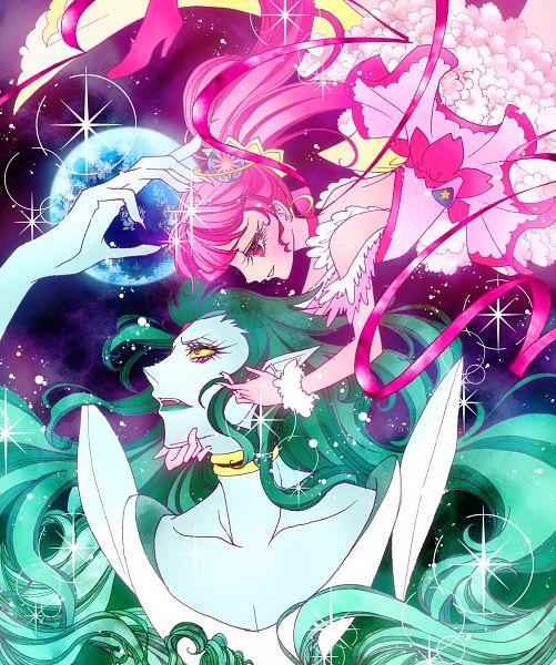 Tags: Anime, Pixiv Id 4055359, Star☆Twinkle Precure, Hoshina Hikaru, Cure Star, Kappard, Pixiv, Fanart, Fanart From Pixiv