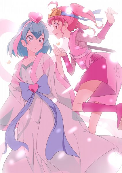 Tags: Anime, Yuto (Artist), Star☆Twinkle Precure, Hoshina Hikaru, Hagorumo Lala, Pixiv, Fanart, Fanart From Pixiv