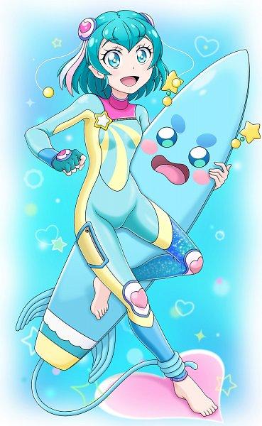 Tags: Anime, Pixiv Id 12573988, Star☆Twinkle Precure, Hagorumo Lala, Prunce, Diving Suit, Fanart From Pixiv, Pixiv, Fanart