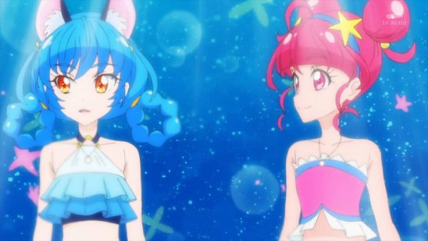 Tags: Anime, Star☆Twinkle Precure, Hoshina Hikaru, Yuni (Precure), Screenshot