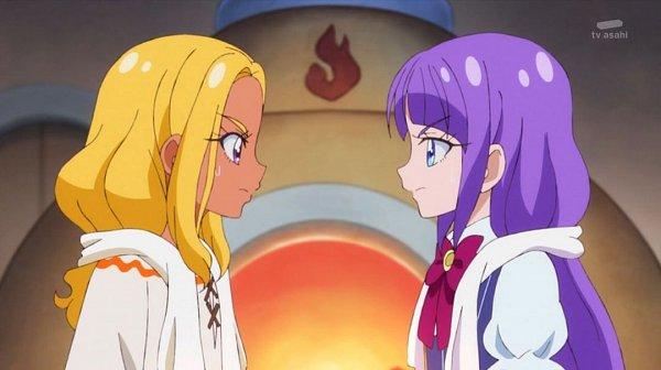 Tags: Anime, Star☆Twinkle Precure, Amamiya Erena, Kaguya Madoka, Screenshot