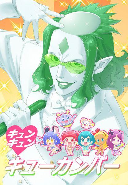Tags: Anime, Pixiv Id 4164172, Star☆Twinkle Precure, Fuwa (Precure), Kaguya Madoka, Yuni (Precure), Amamiya Erena, Kappard, Hagoromo Lala, Prunce, Hoshina Hikaru, Fanart, Fanart From Pixiv