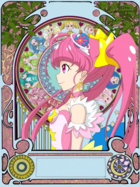 Tags: Anime, Pixiv Id 1430057, Star☆Twinkle Precure, Hoshina Hikaru, Princess Virgo, Cure Star, Princess Aquarius, Princess Scorpio, Princess Gemini, Princess Libra, Princess Cancer, Princess Taurus, Princess Aries