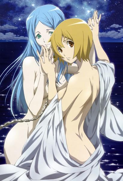 Tags: Anime, Itou Yoshiyuki, Star Driver, Nyantype #12 2010-11, Sakana-chan, Agemaki Wako, Official Art, Mobile Wallpaper