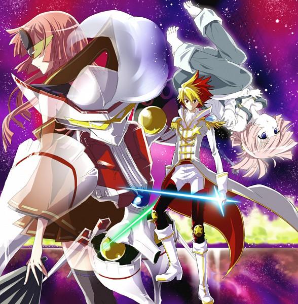 Tags: Anime, Izumi (Sachikara), Star Driver, You Marino, You Mizuno, Ginga Bishounen, Tauburn, Manticore, Tsunashi Takuto, Pixiv, Fanart