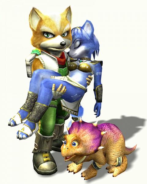 Tags: Anime, Star Fox, Krystal, Fox McCloud, Tricky