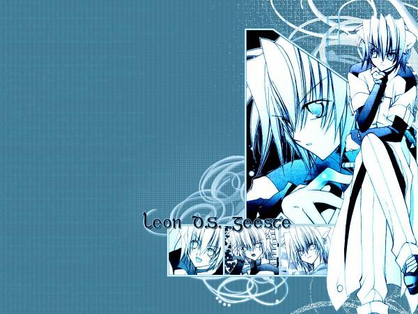 Tags: Anime, Aoi Mizuki (Mangaka), Star Ocean Blue Sphere, Star Ocean Ex, Leon D.S. Geeste, Wallpaper