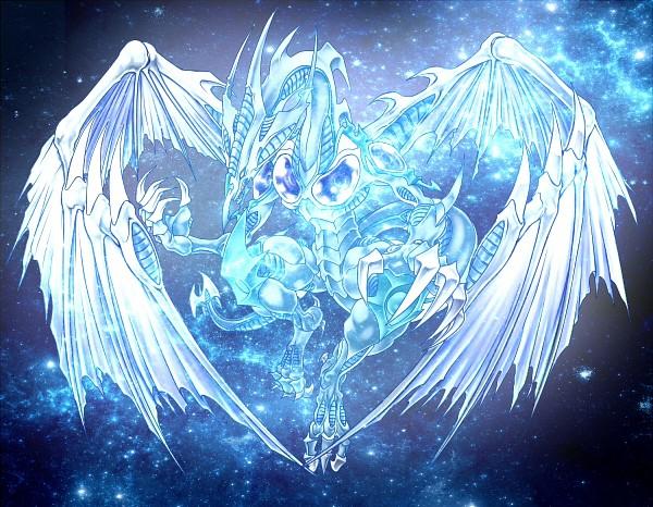Tags: Anime, Pixiv Id 1914435, Yu-Gi-Oh!, Yu-Gi-Oh! 5D's, Stardust Dragon, No Nose, Fanart From Pixiv, Fanart, Pixiv