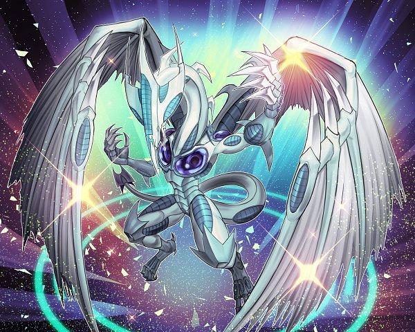 Tags: Anime, Pixiv Id 3160026, Yu-Gi-Oh! 5D's, Yu-Gi-Oh!, Stardust Dragon, Pixiv, Fanart From Pixiv, Fanart