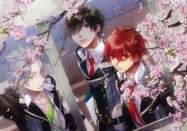 Tags: Anime, Kazuaki, Starry☆Sky~, Nanami Kanata (Starry☆Sky), Tohzuki Suzuya, Tomoe Yoh, Official Art, Scan, Starry☆Sky ~in Spring~