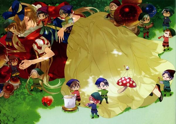 Tags: Anime, Kazuaki, Starry☆Sky~, Yahisa Tsukiko, Aozora Hayato, Kinose Azusa, Hoshizuki Kotarou, Nanami Kanata (Starry☆Sky), Miyaji Ryunosuke, Kanakubo Homare, Amaha Tsubasa, Tomoe Yoh, Shiranui Kazuki