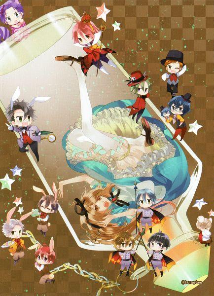 Tags: Anime, Kazuaki, Starry☆Sky~Art Book Vol.1, Starry☆Sky~, Amaha Tsubasa, Kanakubo Homare, Yahisa Tsukiko, Nanami Kanata (Starry☆Sky), Tohzuki Suzuya, Iku Mizushima, Kagurazaka Shiki, Haruki Naoshi, Tomoe Yoh