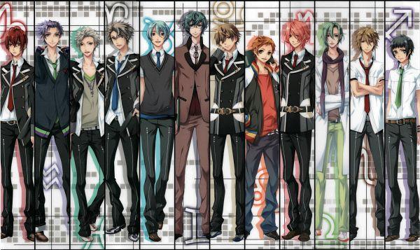 Tags: Anime, Kazuaki, Starry☆Sky~, Nanami Kanata (Starry☆Sky), Tohzuki Suzuya, Iku Mizushima, Shiranui Kazuki, Haruki Naoshi, Tomoe Yoh, Kinose Azusa, Aozora Hayato, Miyaji Ryunosuke, Hoshizuki Kotarou