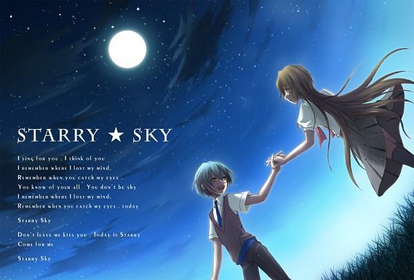 Tags: Anime, Eeta, Starry☆Sky~, Yahisa Tsukiko, Kanakubo Homare, Fanart, Pixiv, Starry☆Sky ~in Summer~