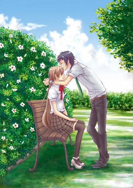 Tags: Anime, Starry☆Sky~, Yahisa Tsukiko, Kinose Azusa, Mobile Wallpaper, Starry☆Sky ~in Summer~